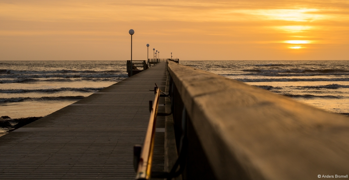 Skrea-strand-solnedgång-III